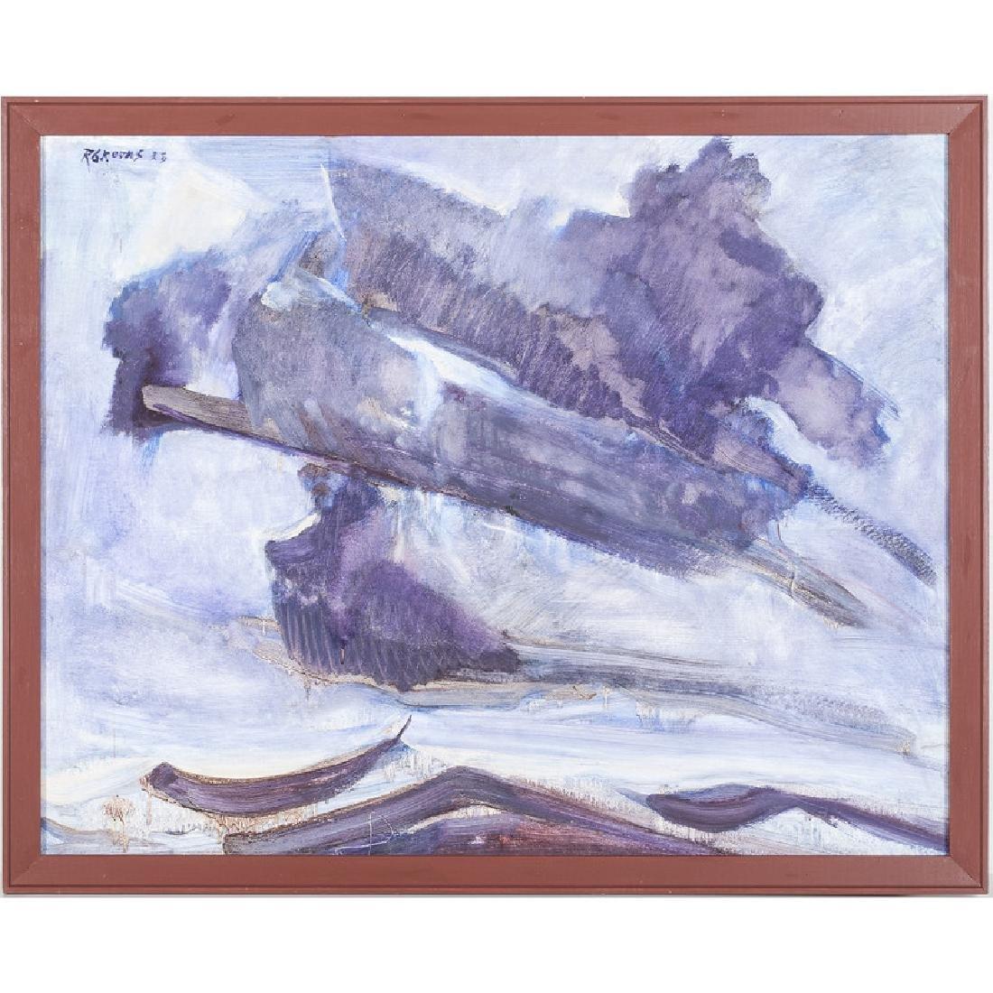 Reginald Grooms (Cincinnati, 1900-1989), Oil