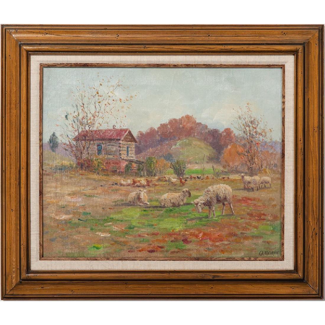 Charles Meurer (Cincinnati, 1865-1955), Oil
