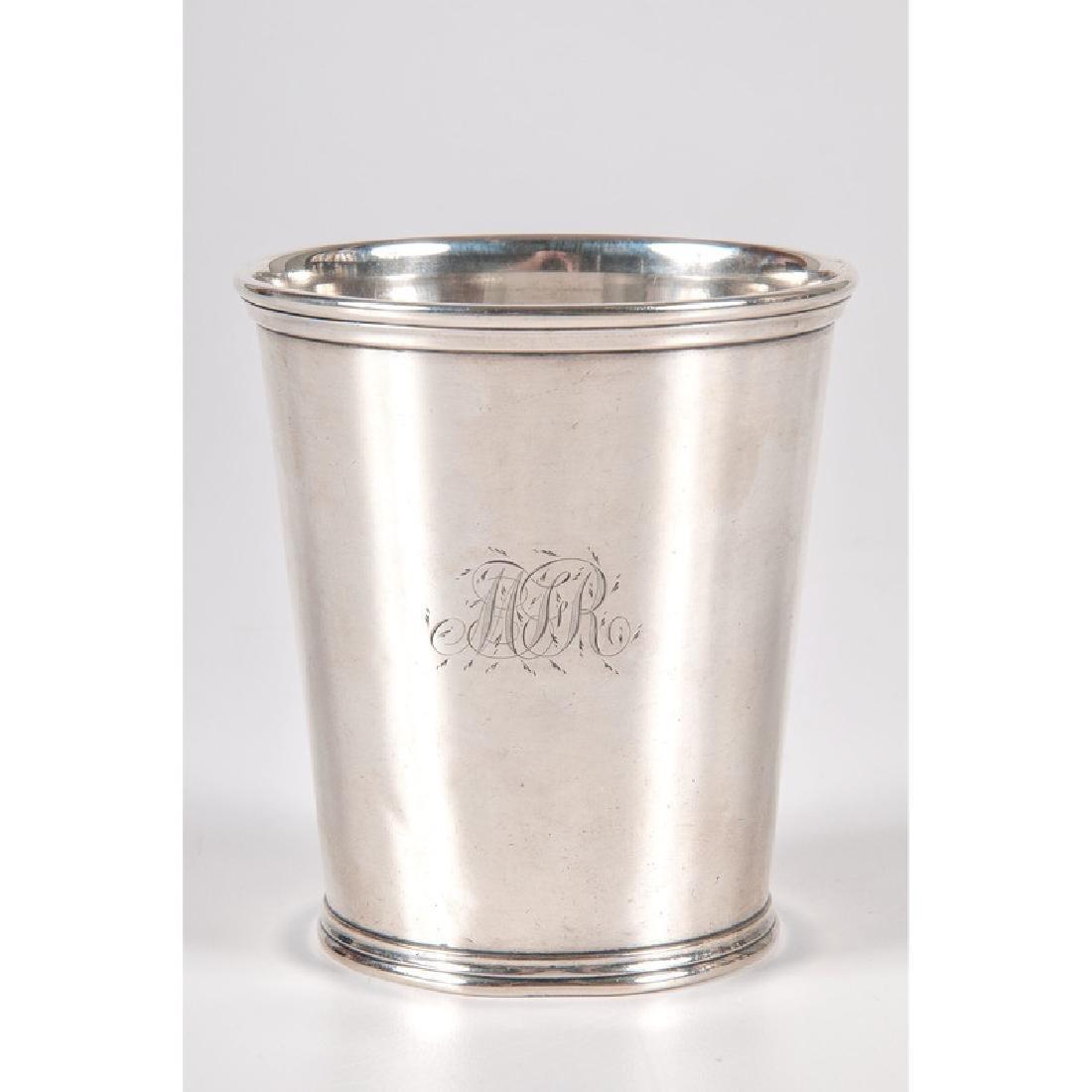 Louisville Fletcher & Bennett Coin Silver Julep Cup