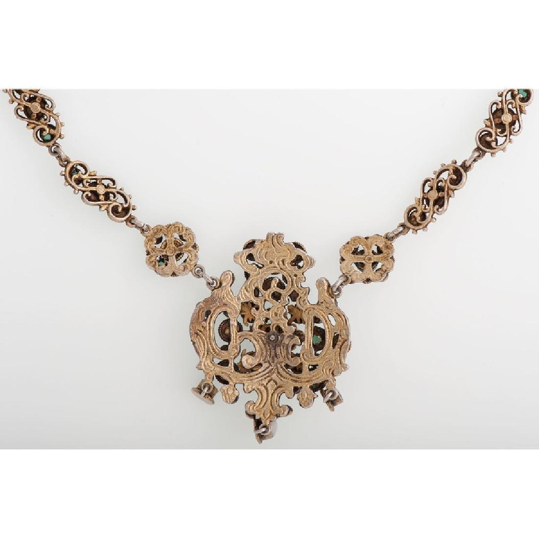 Gilt Austro Hungarian Necklace - 4