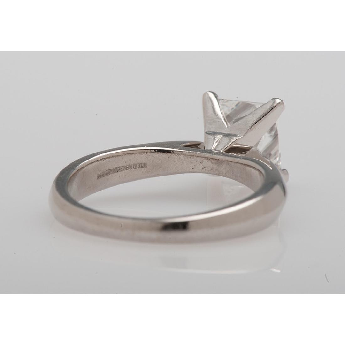 Bailey Banks & Biddle Platinum Diamond Ring - 3