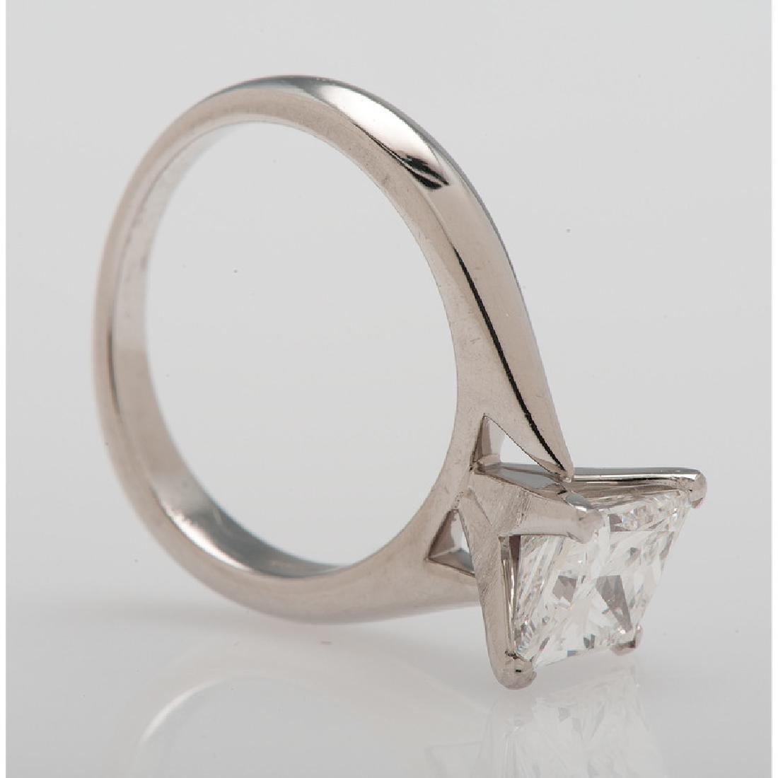Bailey Banks & Biddle Platinum Diamond Ring - 4