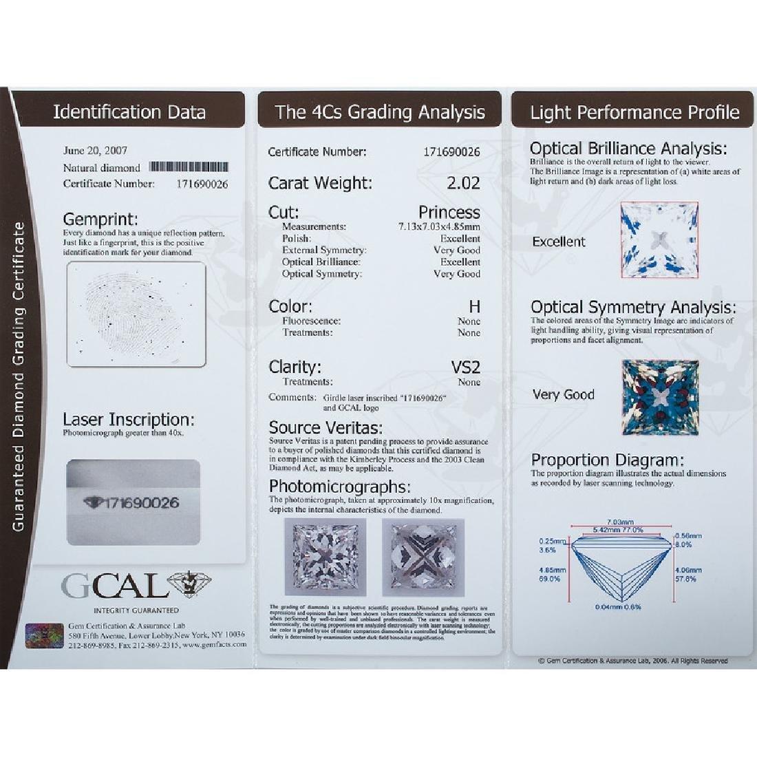 Bailey Banks & Biddle Platinum Diamond Ring - 5