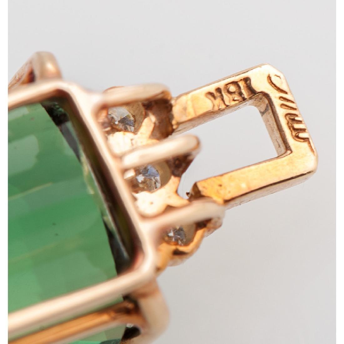 18 Karat Gold Pendants - 7