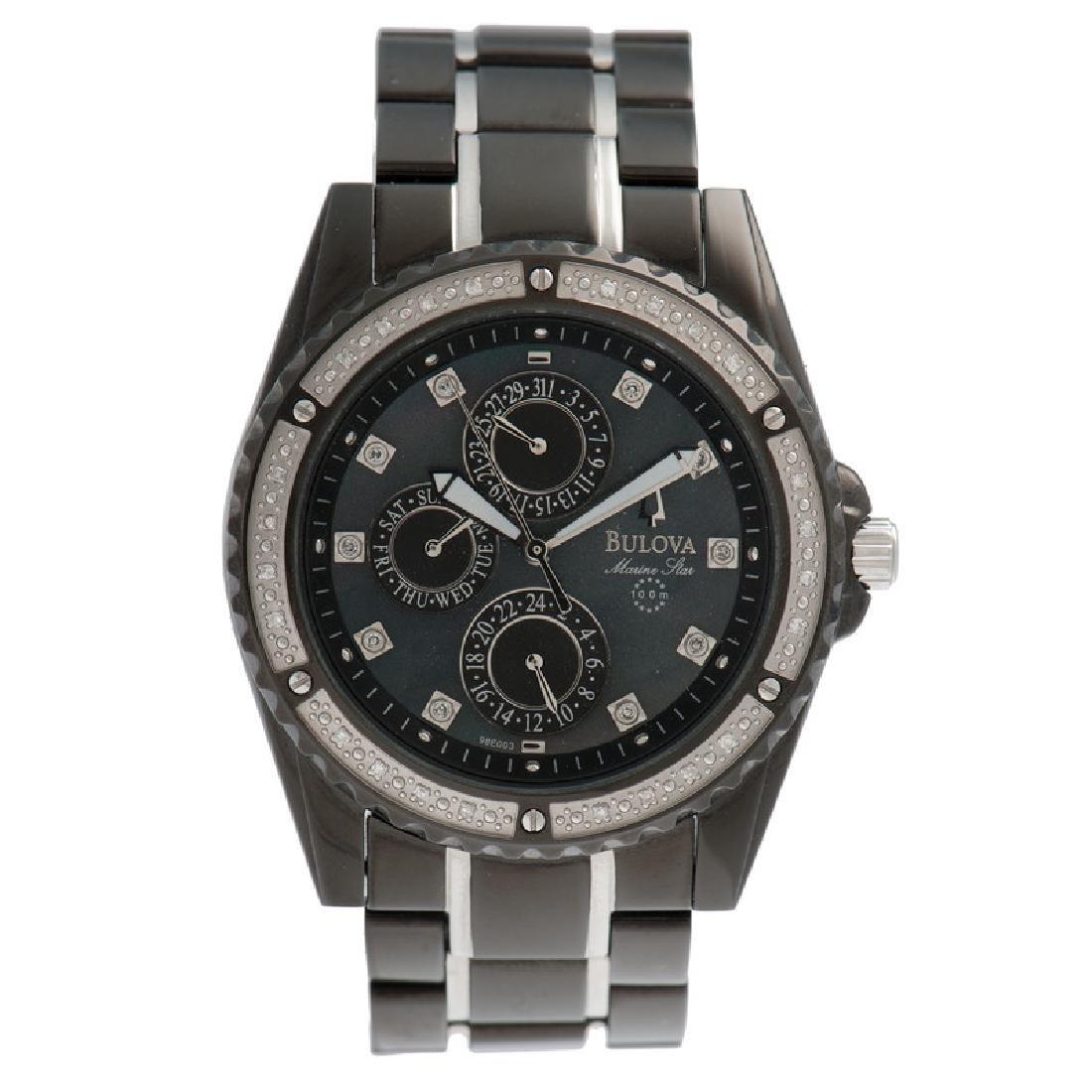 Bulova Marine Star Diamond Wrist Watch