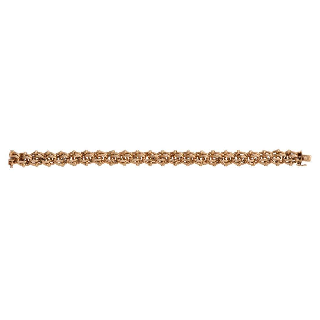 Tiffany & Co. 18 Karat Yellow Gold Bracelet