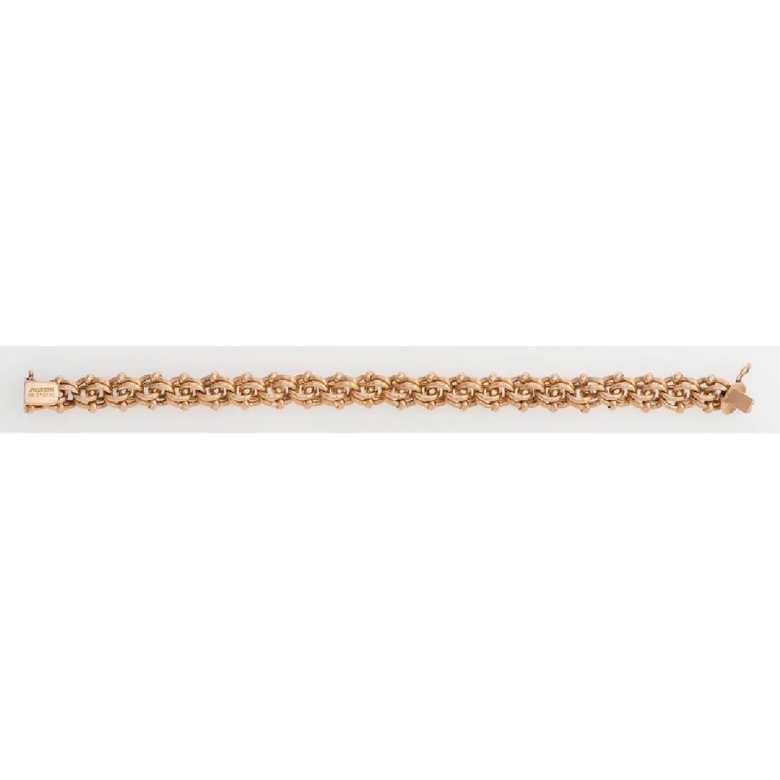 Tiffany & Co. 18 Karat Yellow Gold Bracelet - 3