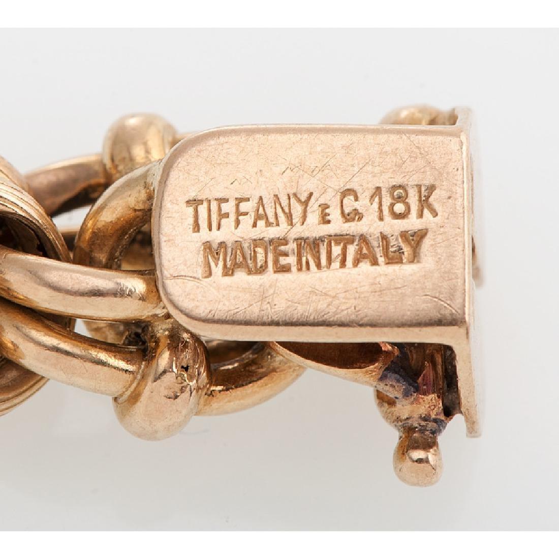Tiffany & Co. 18 Karat Yellow Gold Bracelet - 4