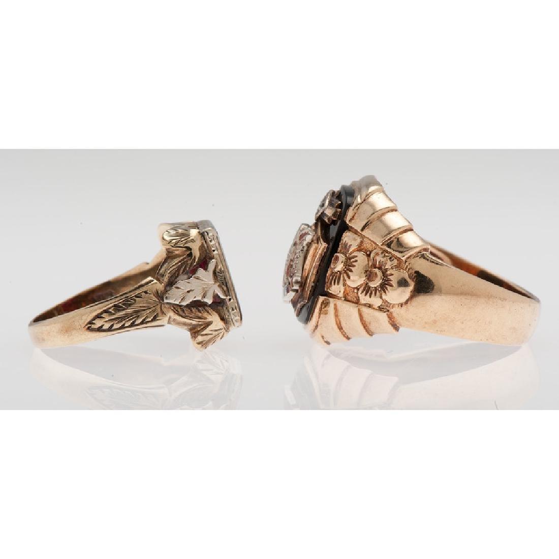 10 Karat Gold Fraternal Jewelry - 2