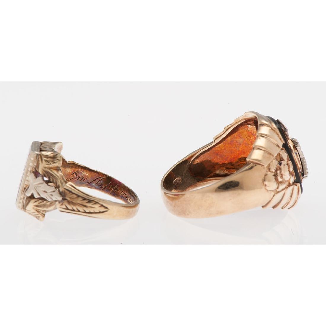 10 Karat Gold Fraternal Jewelry - 3