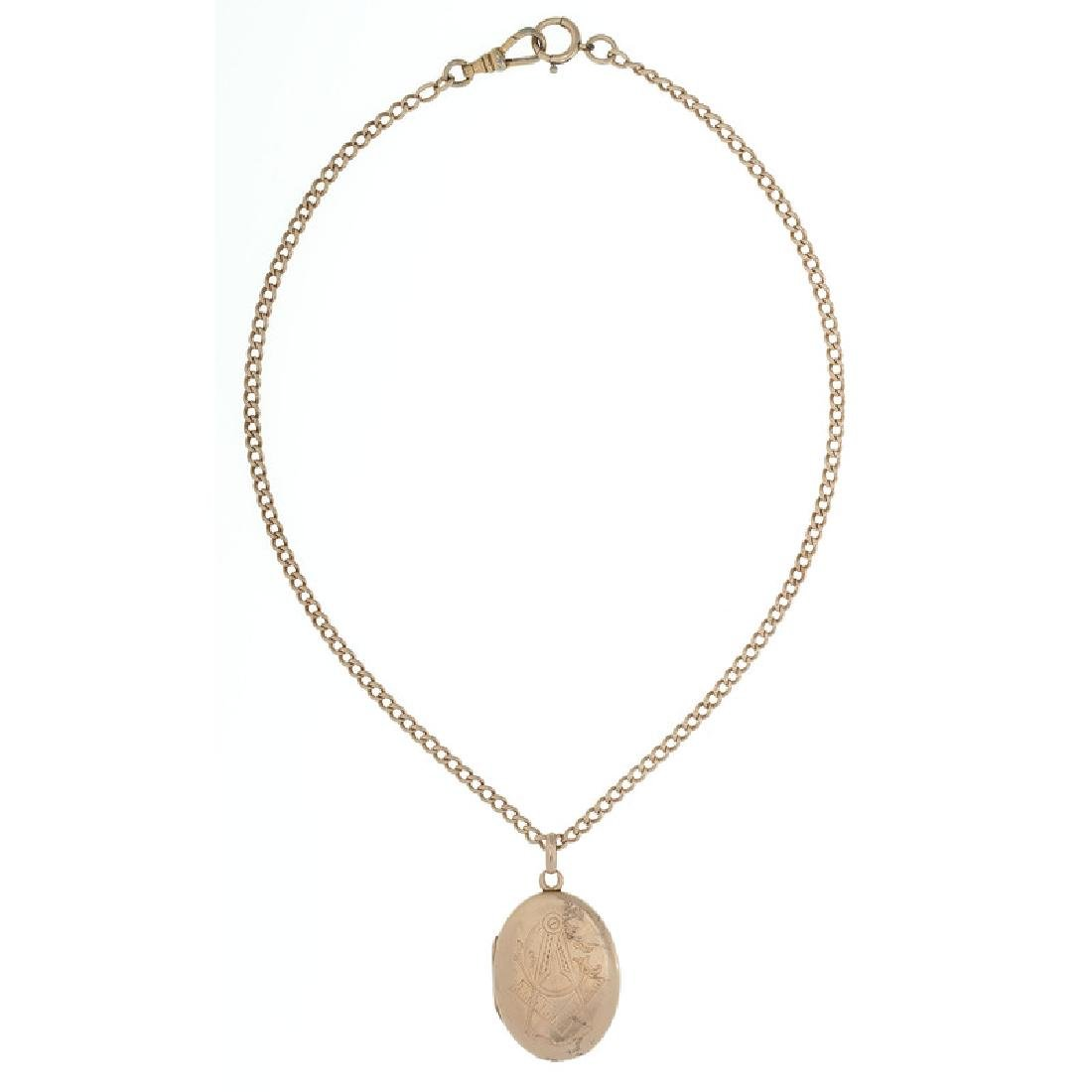 10 Karat Gold Fraternal Jewelry - 4