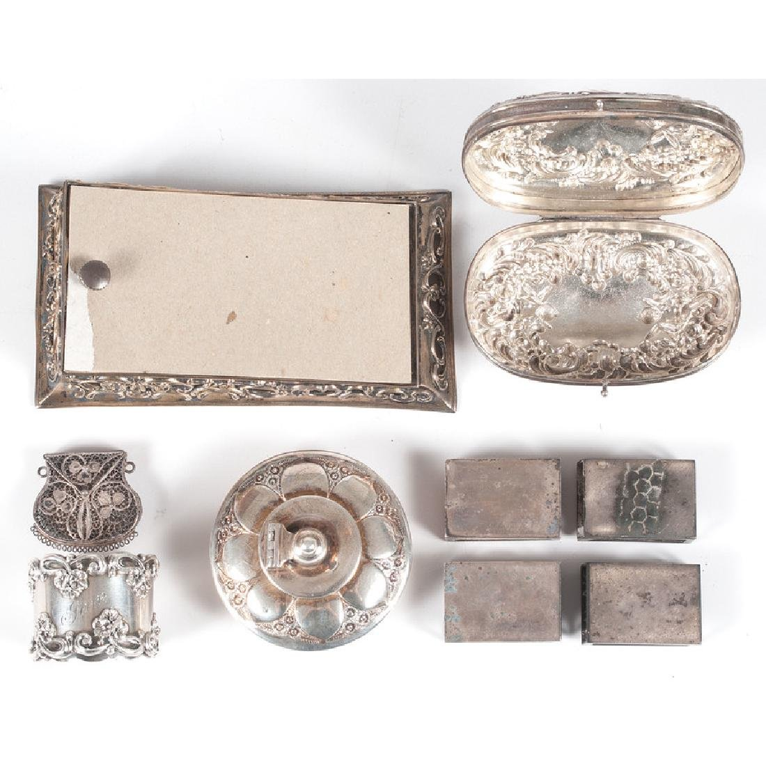 Sterling-Mounted Dresser Accessories - 3