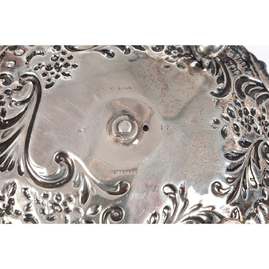 Sterling-Mounted Dresser Accessories - 6