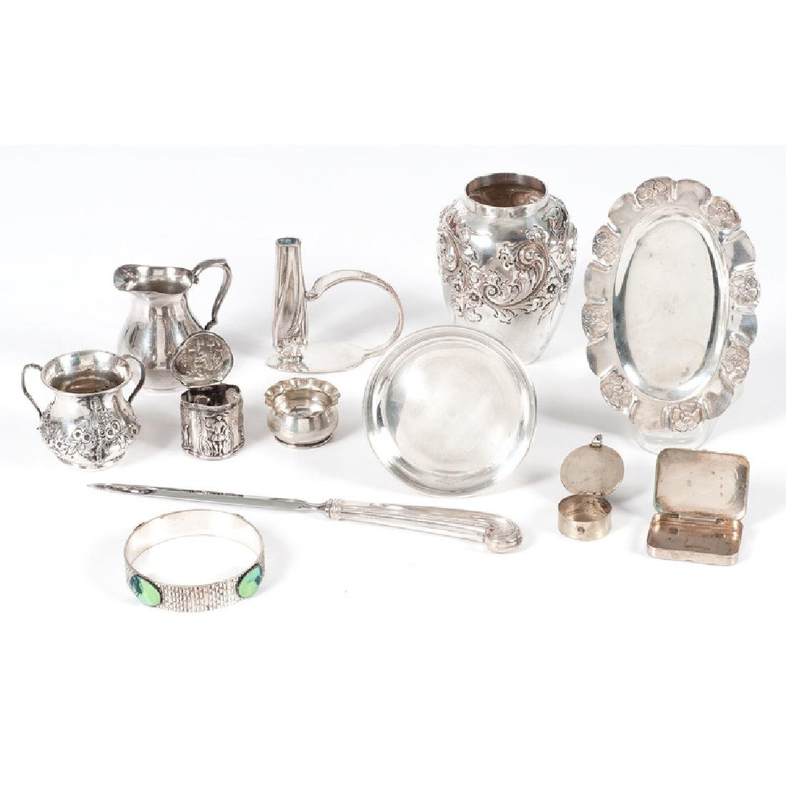 Sterling and Silverplate Tablewares and Accessories - 2