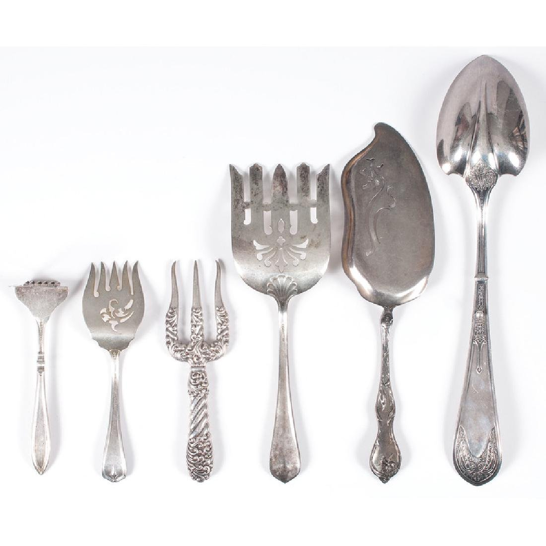 Gorham Sterling Serving Utensils - 2