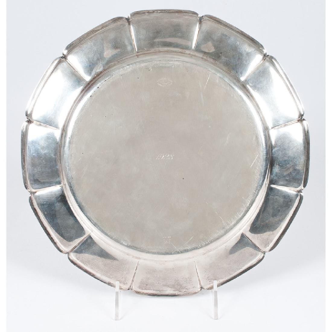 Frank M. Whiting Sterling Serving Tray - 2