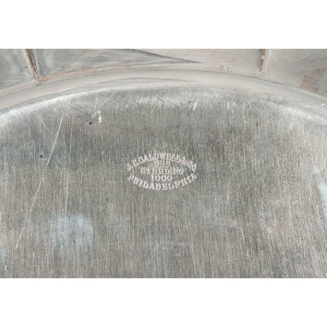 Frank M. Whiting Sterling Serving Tray - 3
