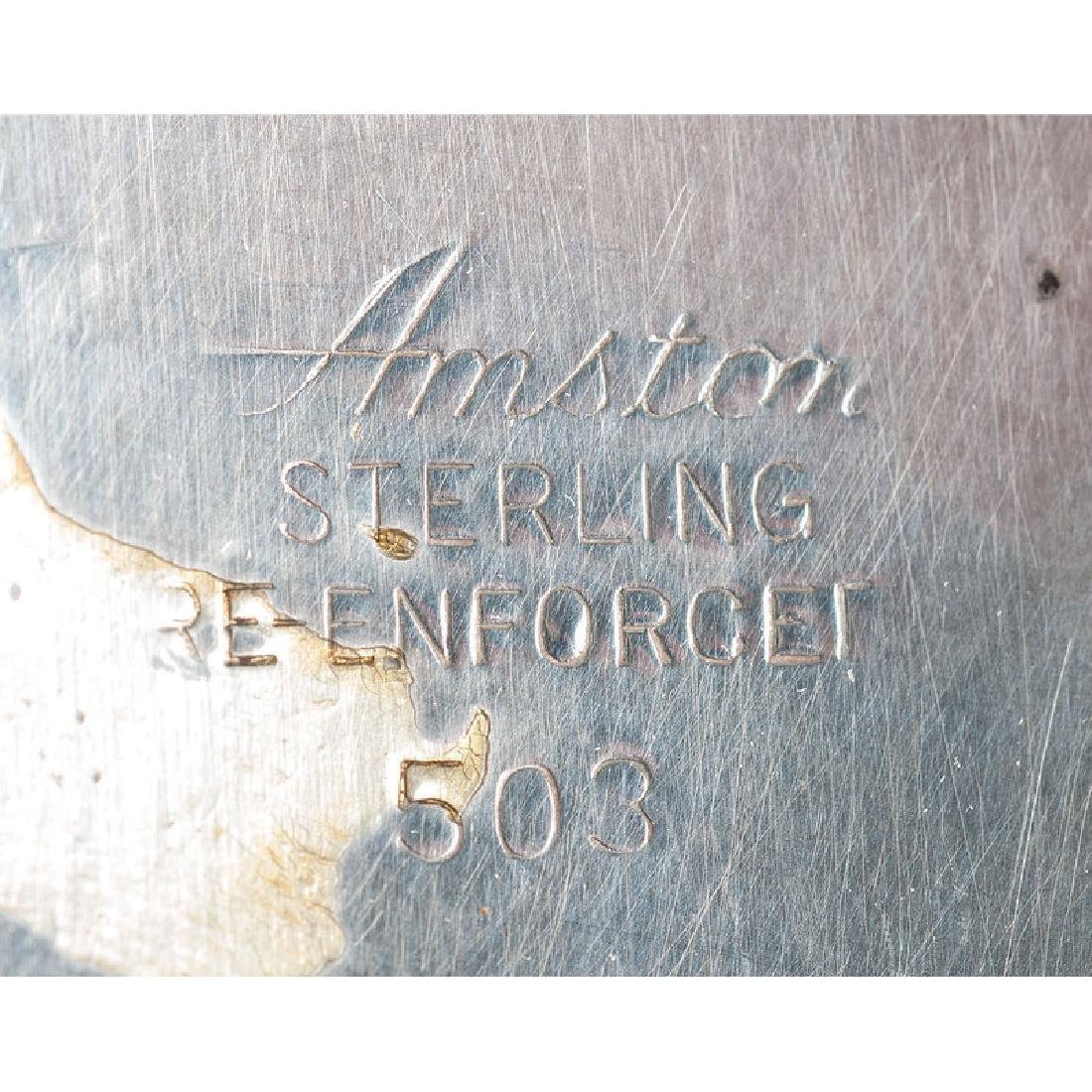 Sterling Weighted Candelabra, Amston & Redlich - 4