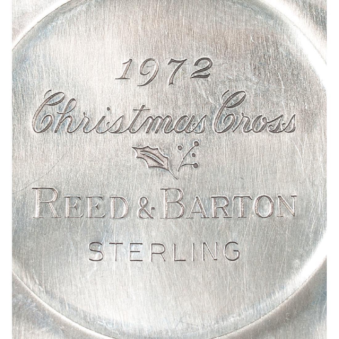 American Silver Christmas Ornaments - 3