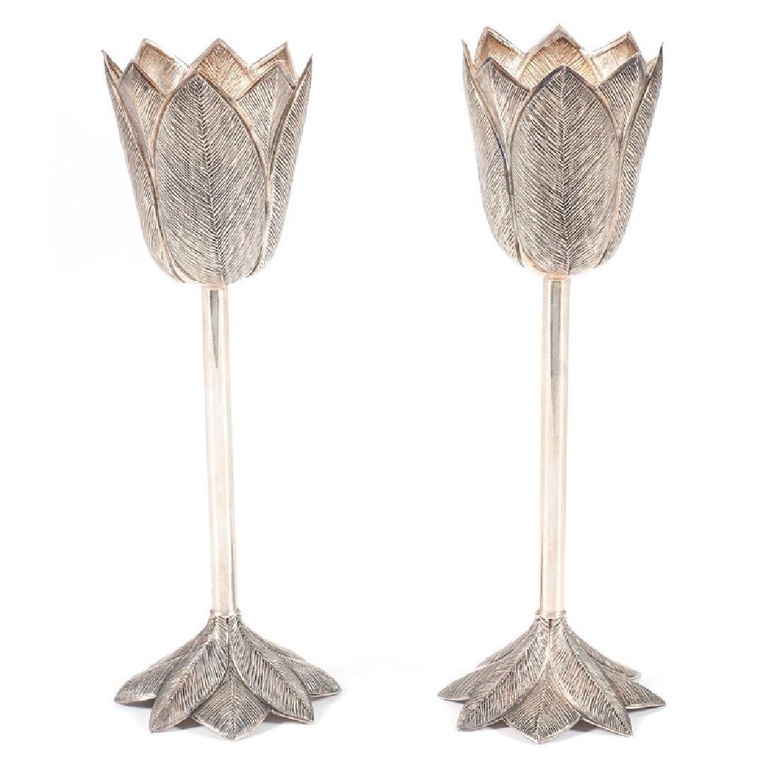 Urart Sterling Tulip Glasses