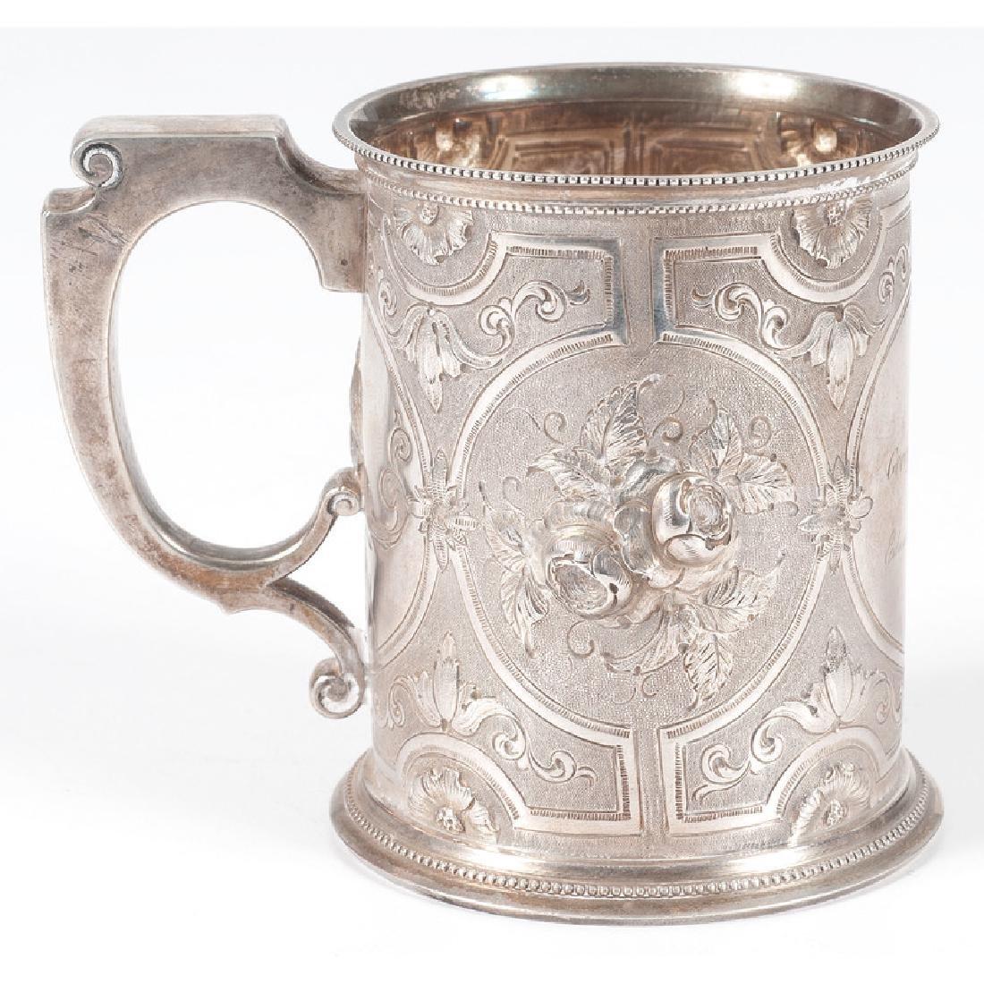 Gorham Coin Silver Presentation Mug