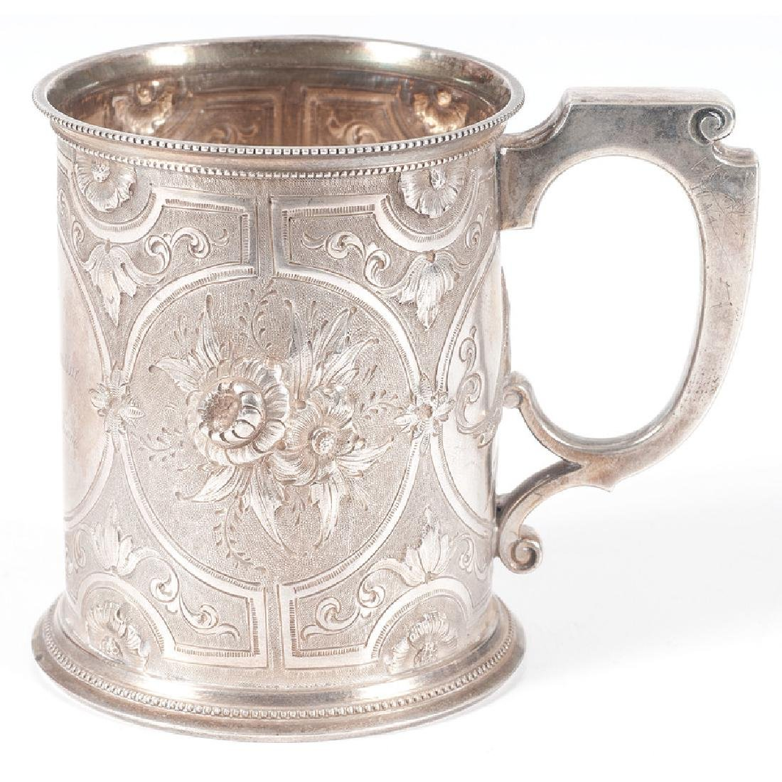 Gorham Coin Silver Presentation Mug - 2