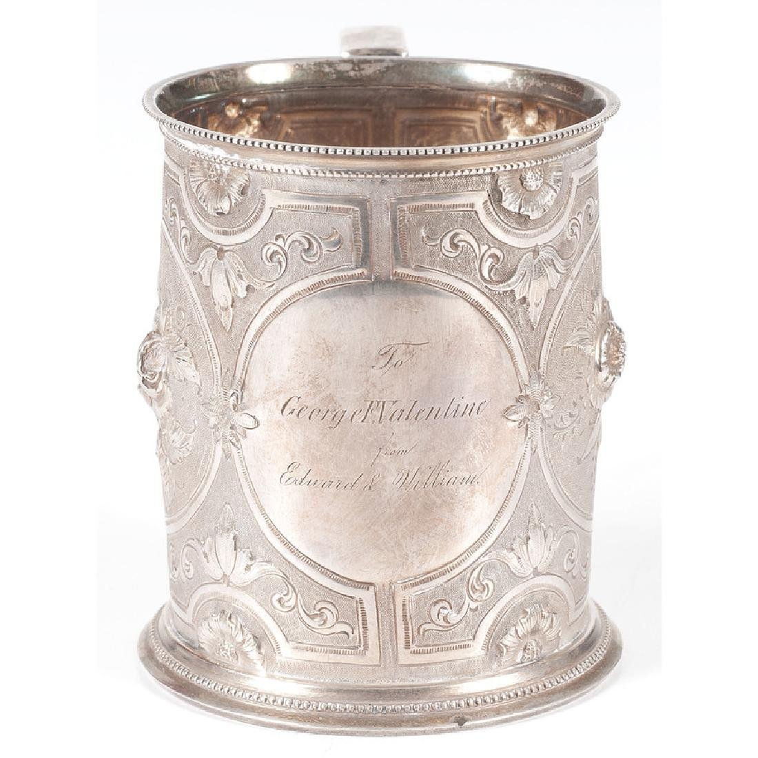 Gorham Coin Silver Presentation Mug - 3