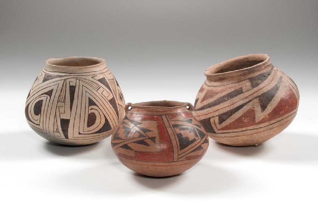Casas Grandes Polychrome Pottery Jars