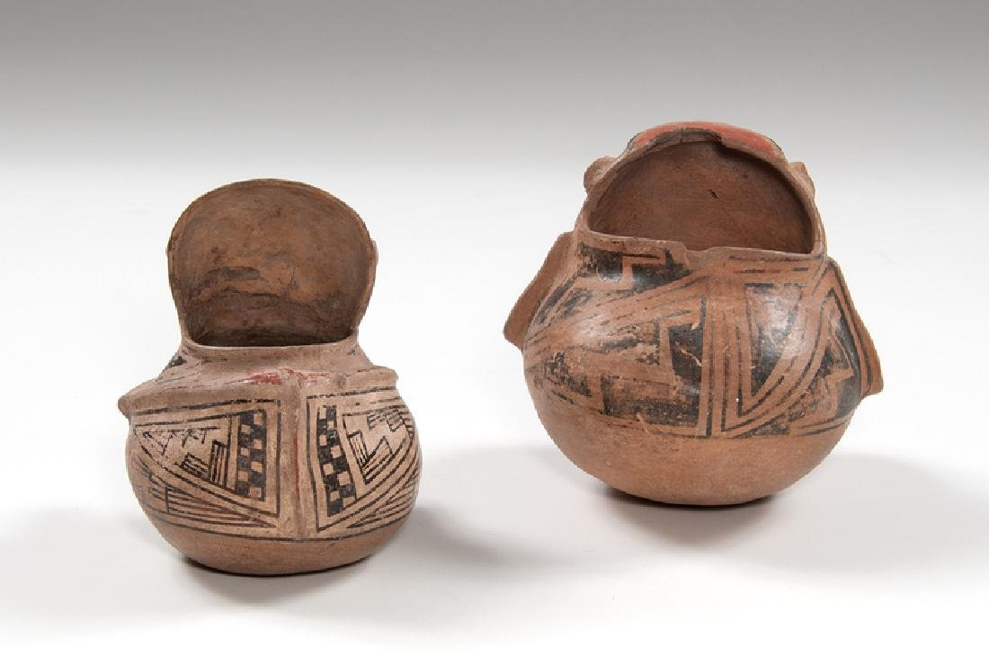 Casas Grandes Polychrome Hooded Human Effigy Pottery - 2