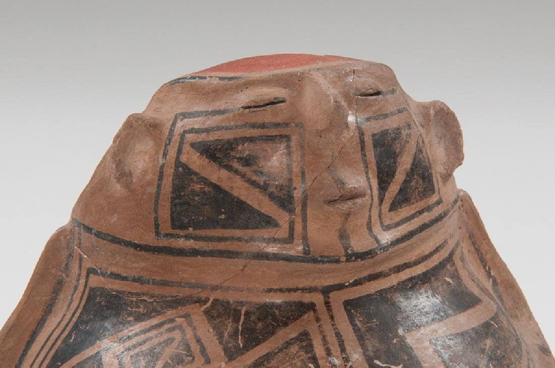 Casas Grandes Polychrome Hooded Human Effigy Pottery - 3