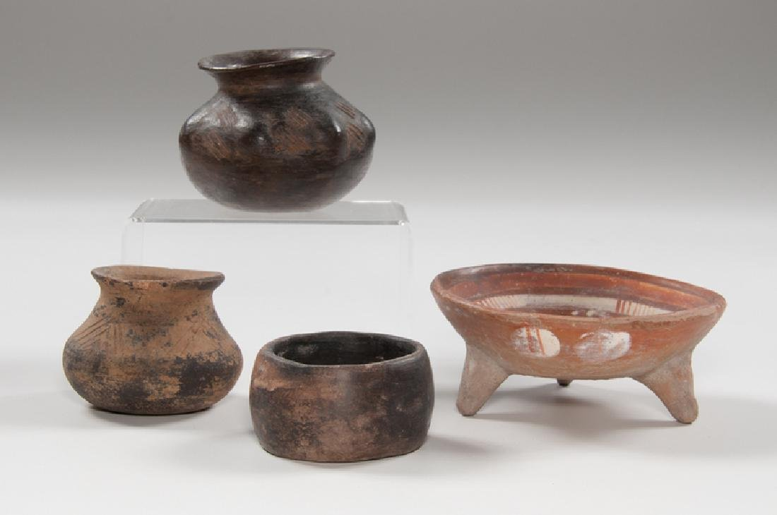 Pre-Columbian Pottery Bowls