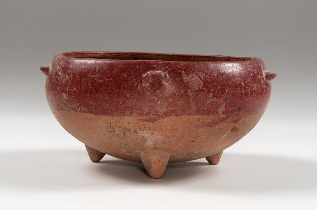 Pre-Columbian Tripod Rattle Dish, Plus - 3
