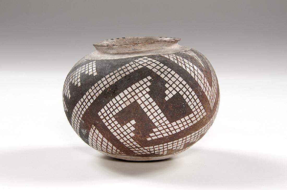 Anasazi Snowflake Black-on-White Bowl