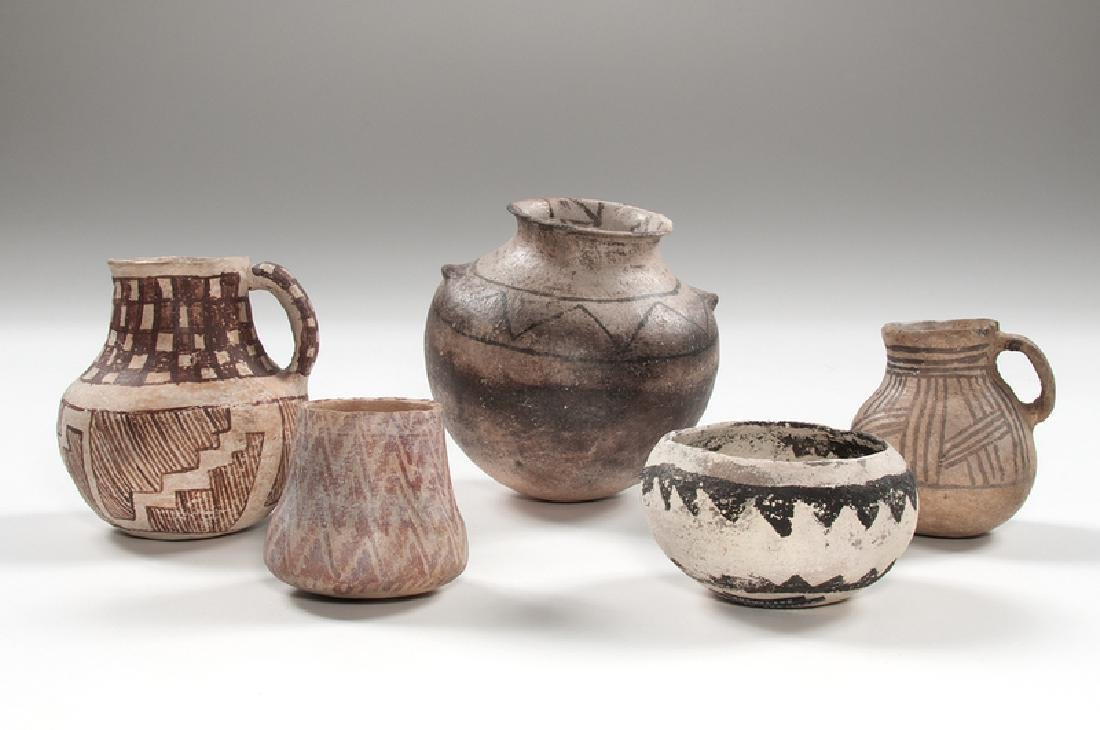 Anasazi Pottery Jars
