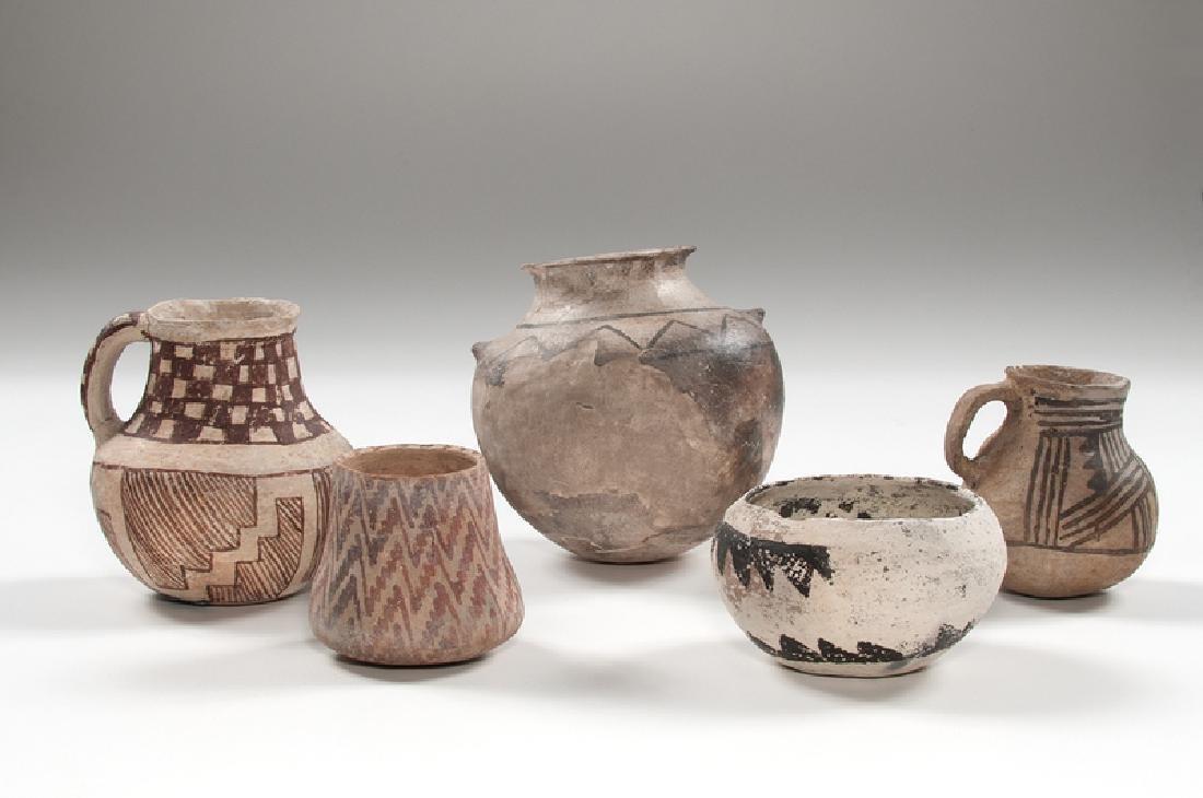Anasazi Pottery Jars - 2