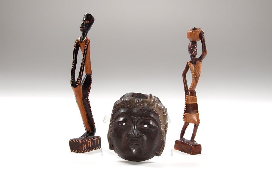 Haitian Folk Wood Carvings, Plus