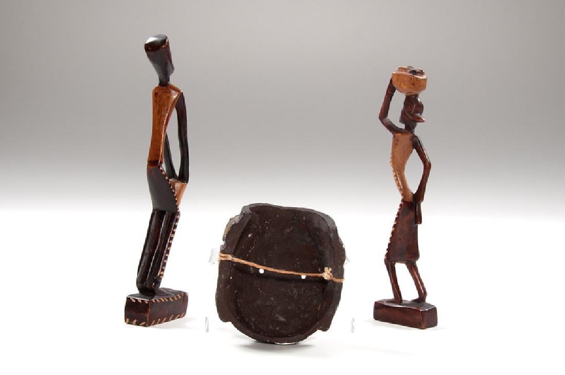 Haitian Folk Wood Carvings, Plus - 2