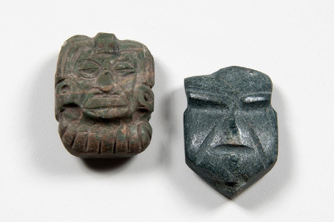 Mezcala Stone Pendants