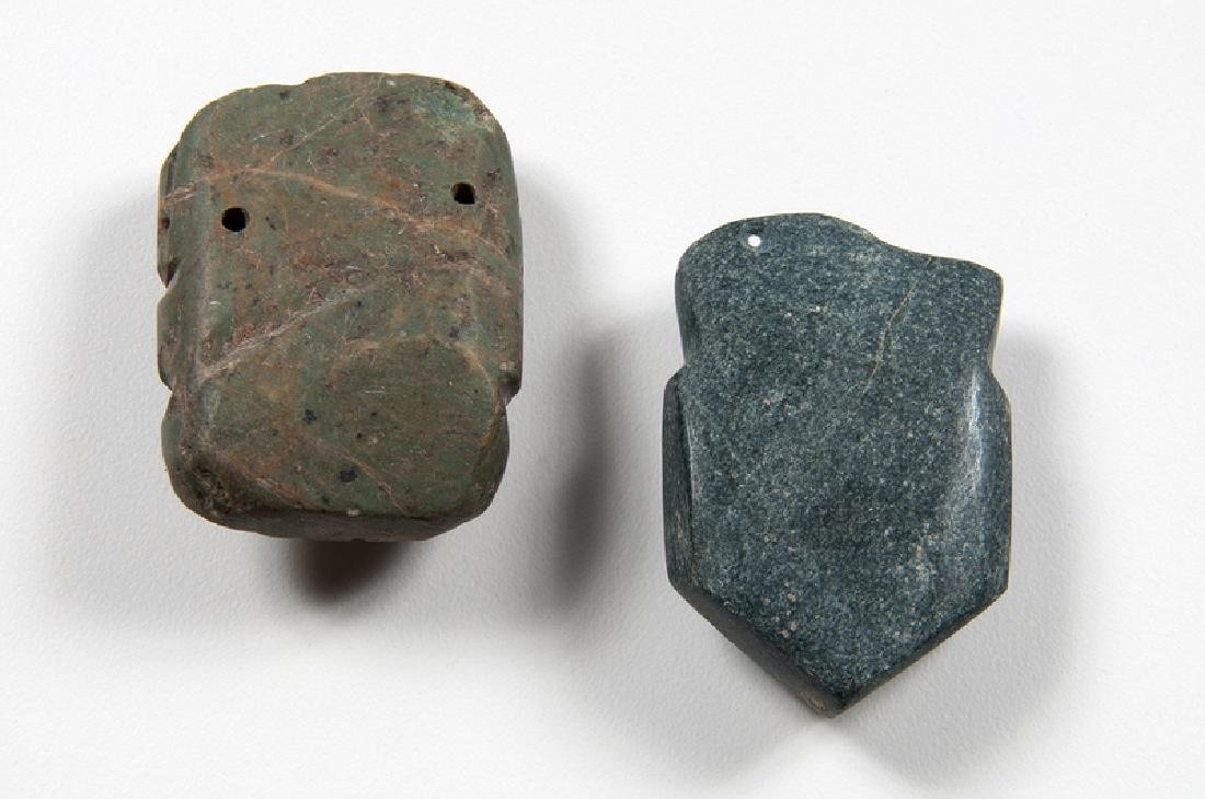 Mezcala Stone Pendants - 2