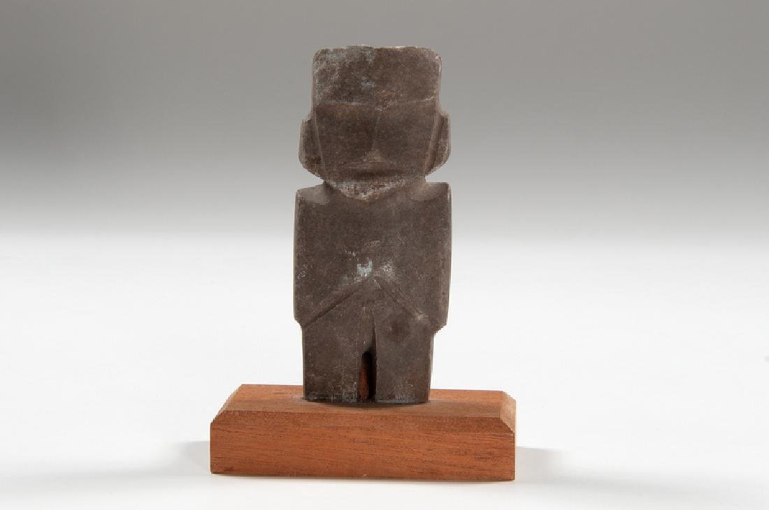 Mezcala Carved Stone Figure