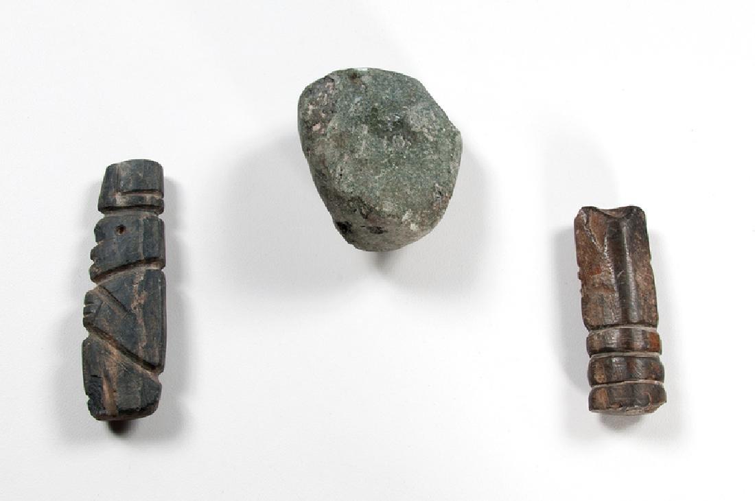 Mezcala Stone Amulets - 2