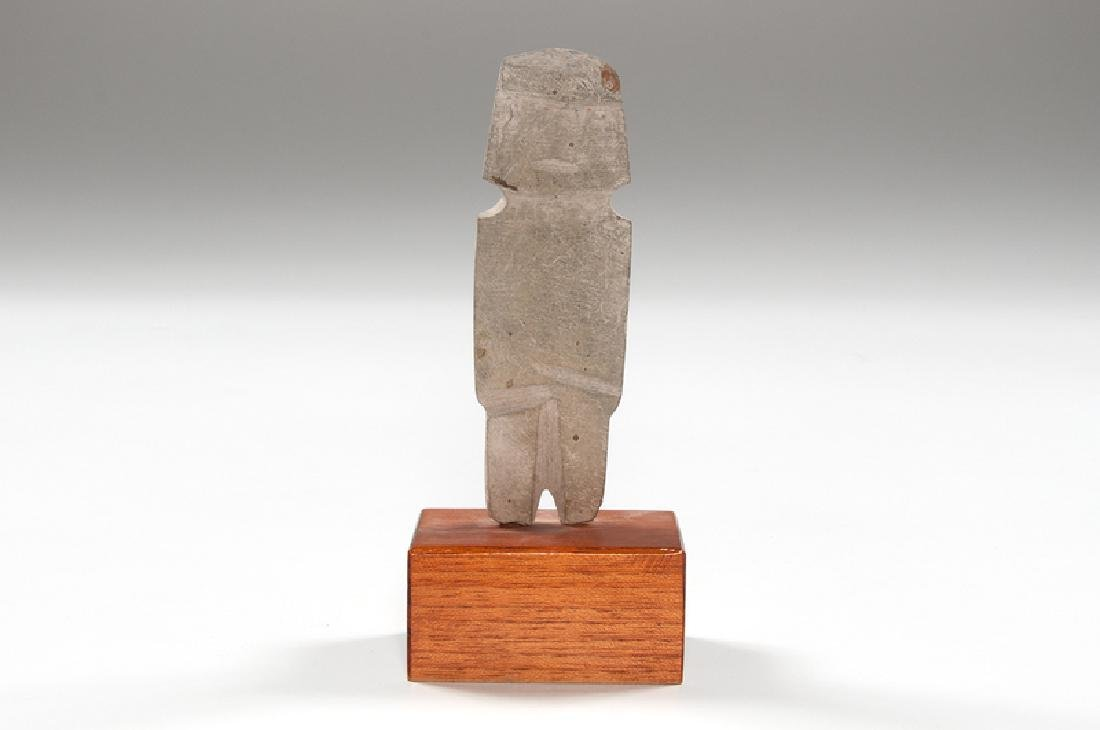 Mezcala Axe God Stone Figure