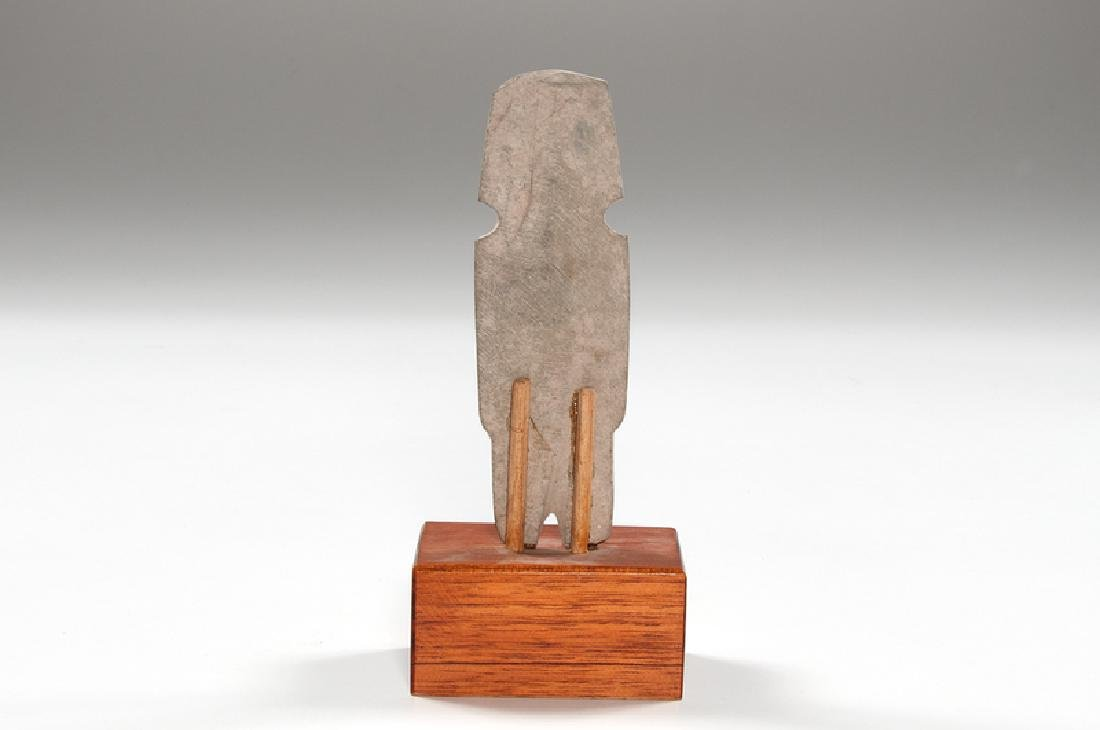 Mezcala Axe God Stone Figure - 2