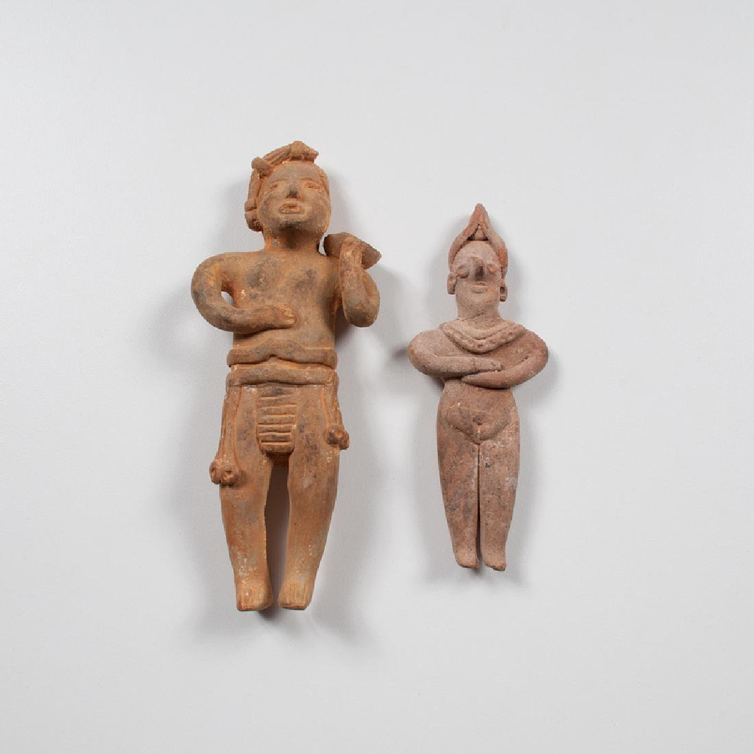 Colima Pottery Standing Figures