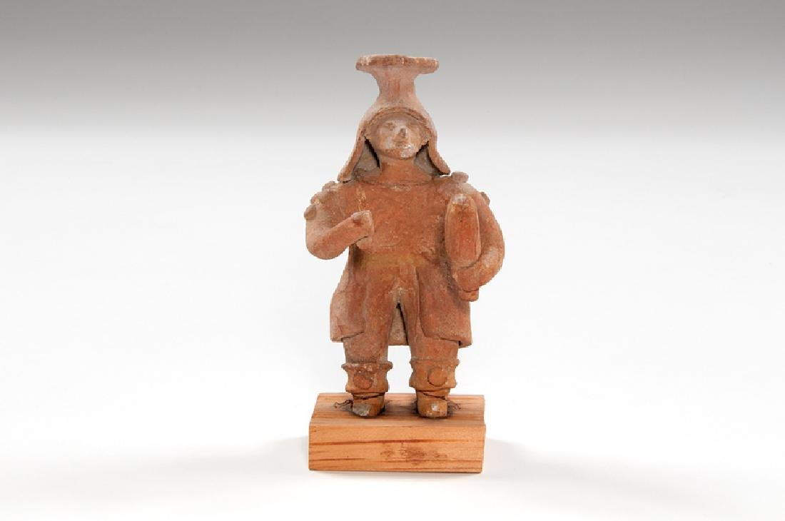 Pre-Columbian Pottery Figure, Possibly Veracruz