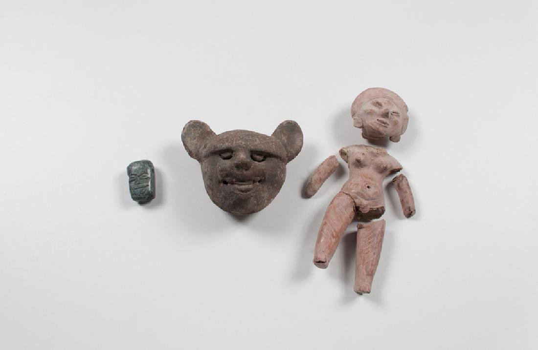 Pre-Columbian Jade and Pottery