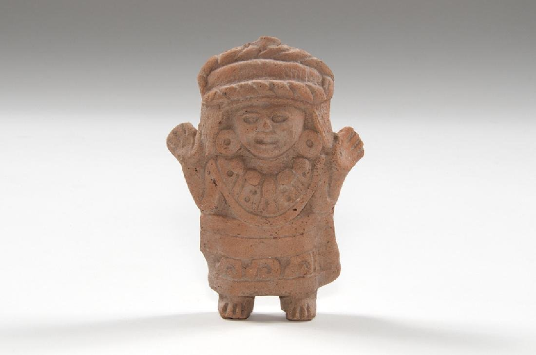 Mayan Pottery Whistle