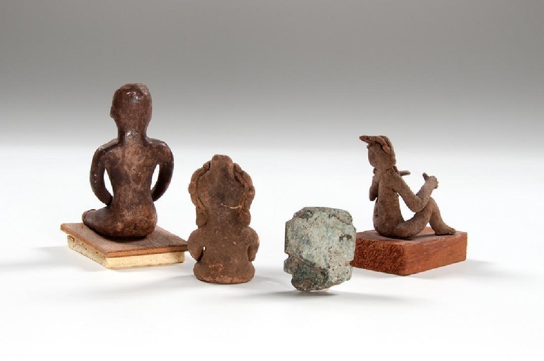 Mesoamerican Pottery Figures, Plus - 2