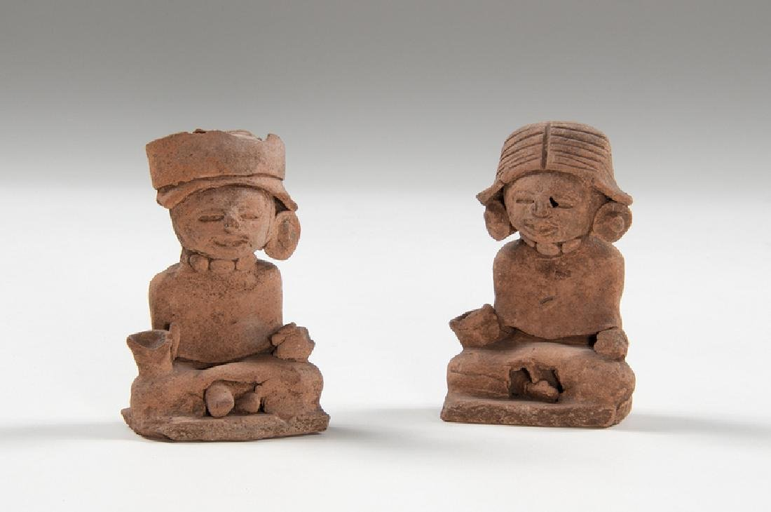 Teotihuacan Pottery Figures