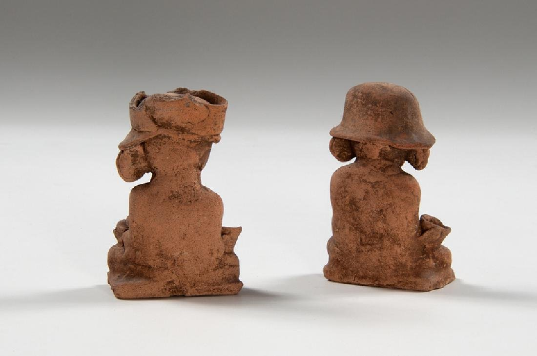 Teotihuacan Pottery Figures - 2